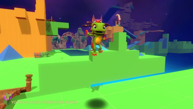 Yooka-Laylee Toybox demo released for backers