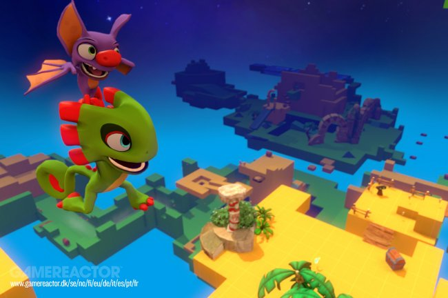 Yooka-Laylee heads to the Arcade in new multiplayer trailer