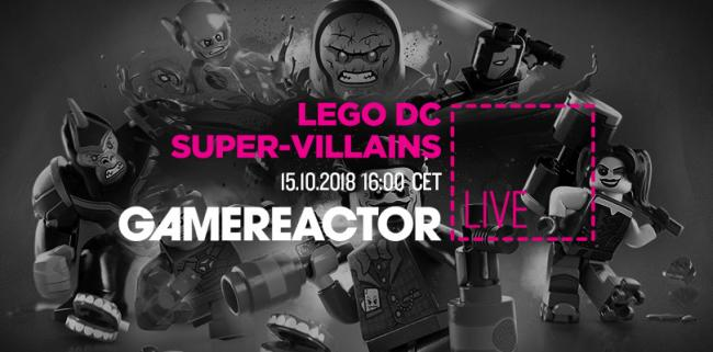 Lego DC Super-Villains is up on today's GR Live stream