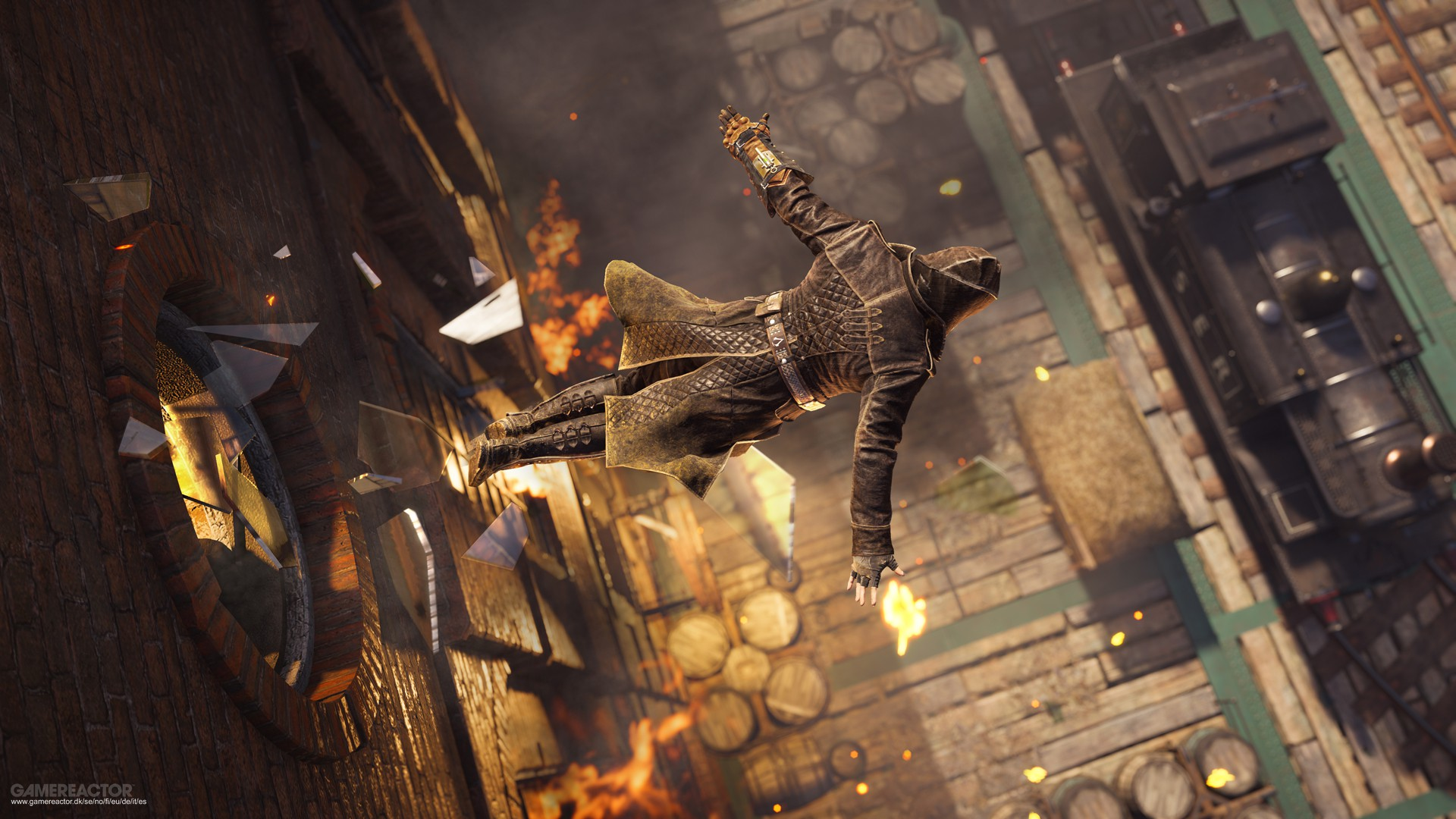 Pictures Of Four Ps4 Gameplay Clips From Assassin S Creed