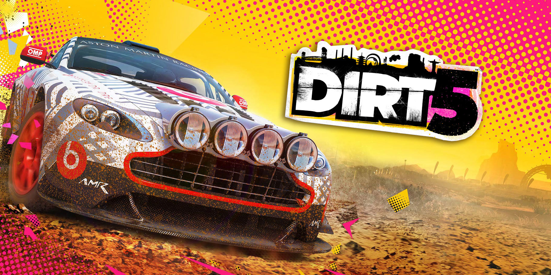 Check out some Cape Town stadium racing in Dirt 5 - Gamereactor UK