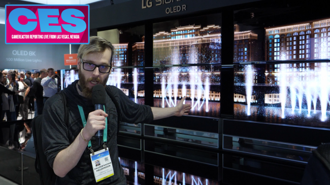 Join us on our tour of LG's range of TVs at CES 2020