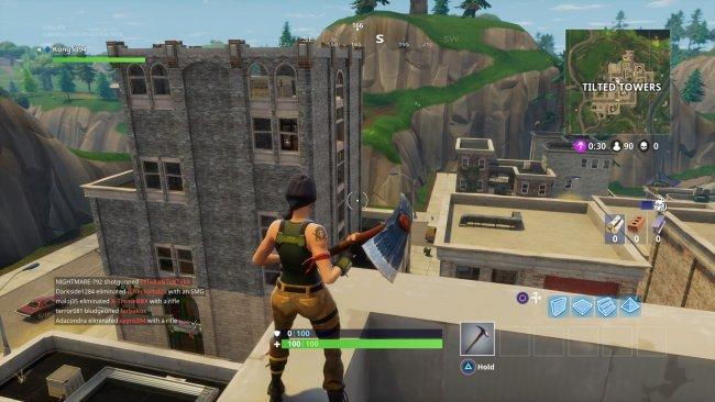 Fortnite battle royale top tips for surviving the new map for Modern house fortnite
