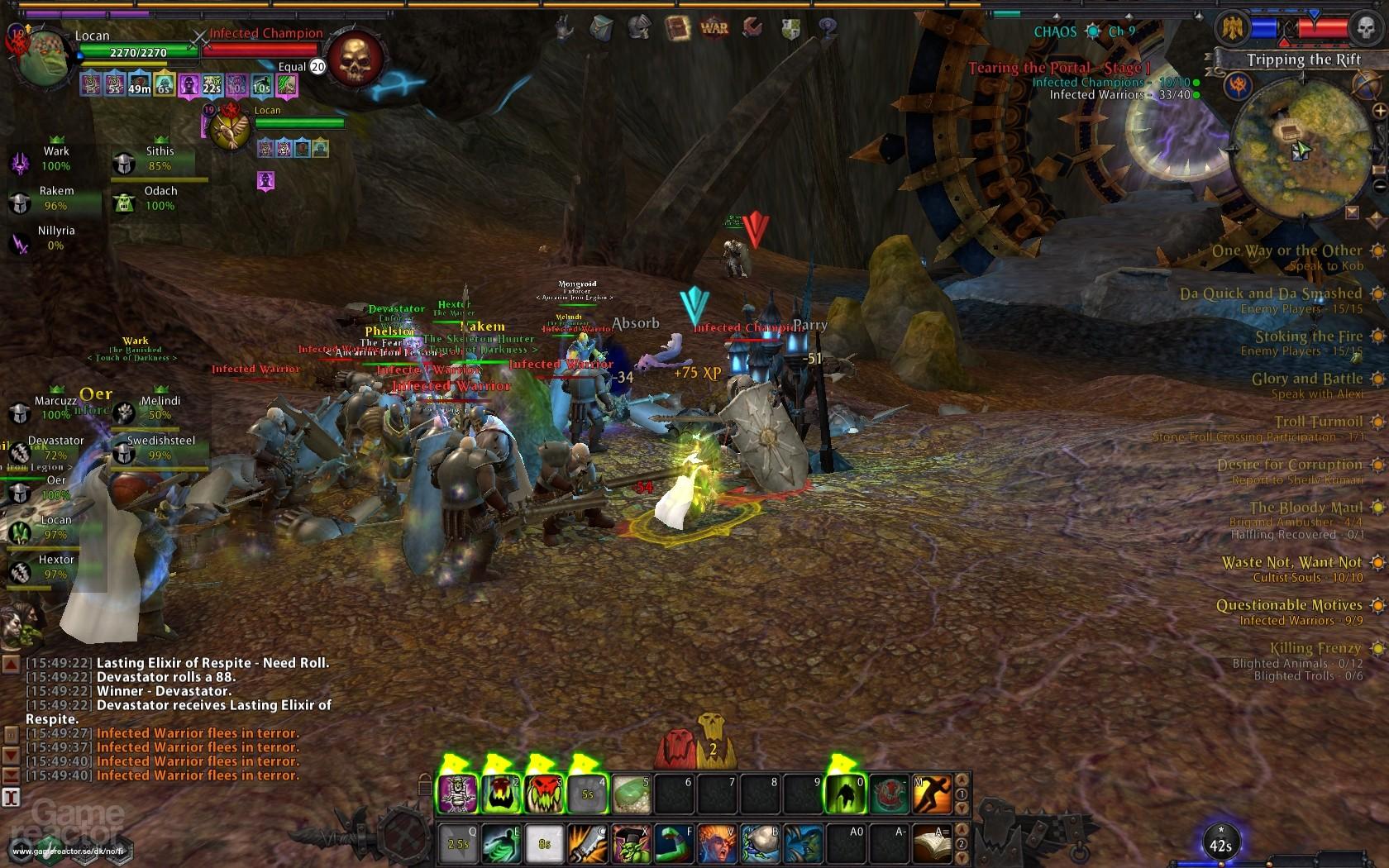 Warhammer Online Game
