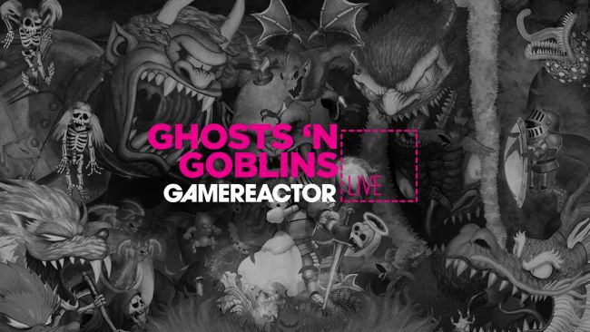 We're playing Ghosts 'n Goblins Resurrection on today's GR Live