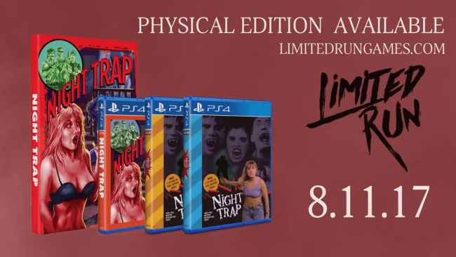 Night Trap: 25th Anniversary Edition coming on August 15