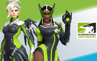 Watch Overwatch Contenders to receive in-game skins