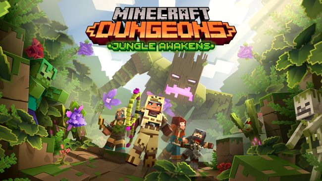 The first Minecraft Dungeons expansion will land in July