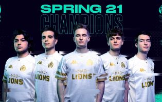 LEC's 2021 Spring Split peaked at 831,000 viewers