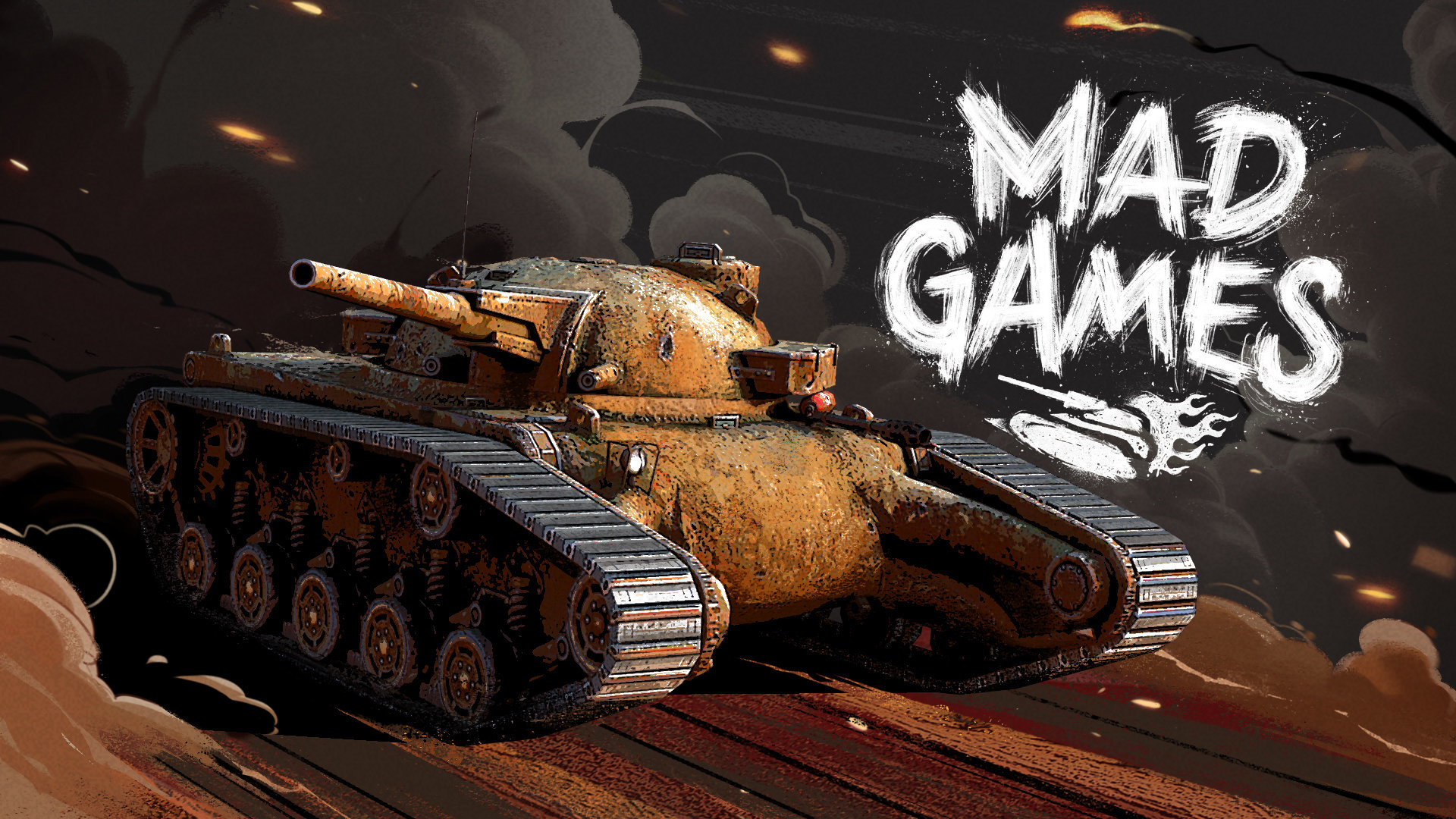Mad Max: Fury Road artist makes two tanks for WoT Blitz