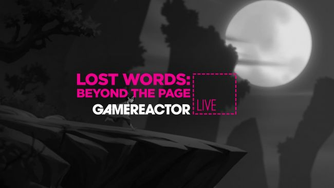 We're playing Lost Words: Beyond the Page on today's GR Live