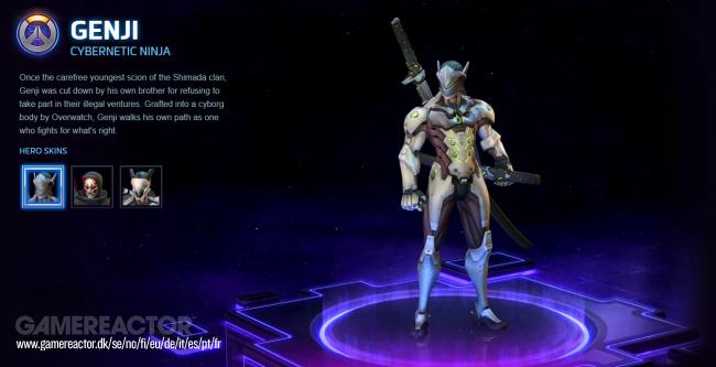 Genji Build Dash Heroes