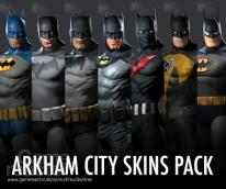 Arkham City Skins Pack available
