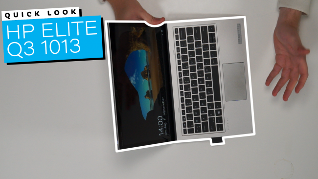 Check out this Quick Look on the HP Elite G3 1013