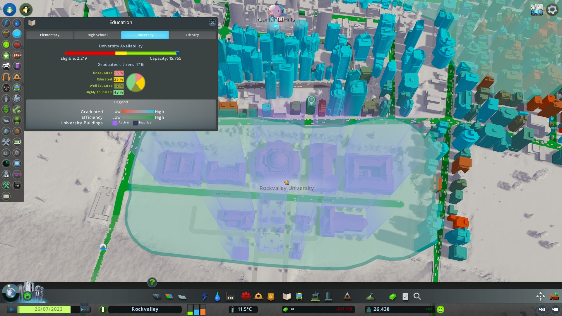 Cities: Skylines gets Campus DLC this month