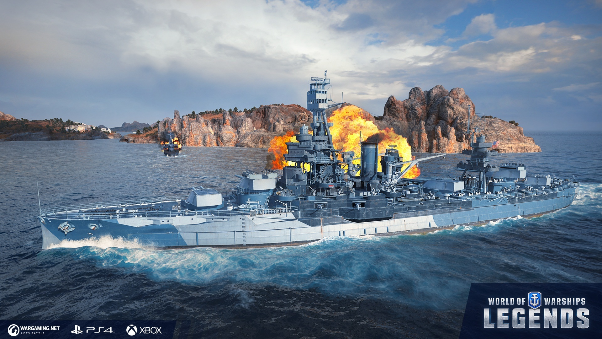 Pictures of World of Warships: Legends hits one million