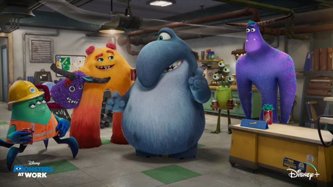 Disney shows off first look at upcoming Monsters At Work series