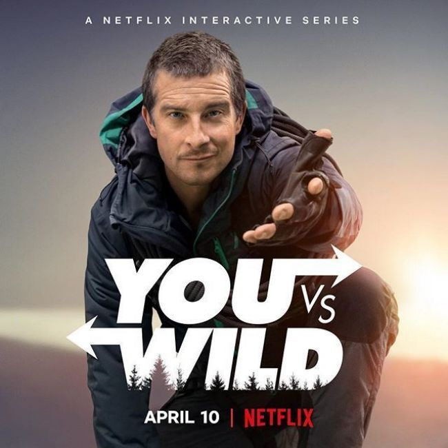 Guide Bear Grylls to survival in new Netflix interactive