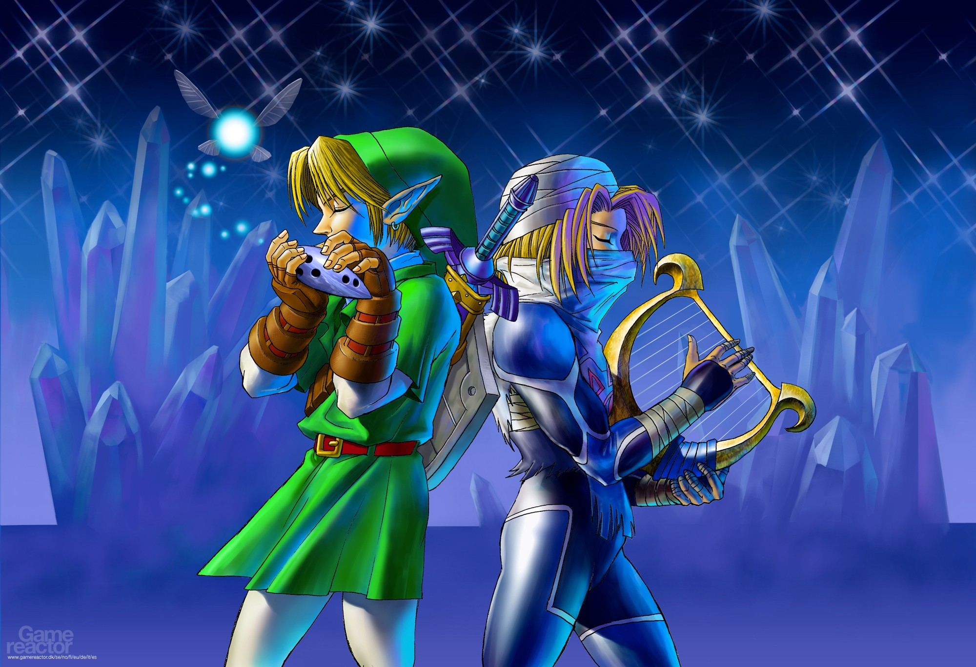 Pictures Of Massive Ocarina Of Time Art Gallery 18 19
