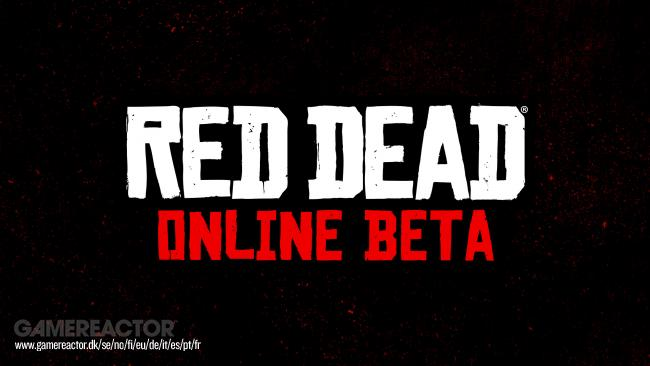 Red Dead Online set for beta launch in November