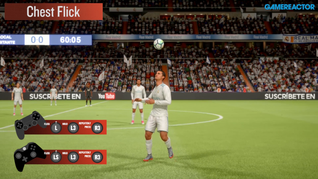 Learn the best skill moves in FIFA 18