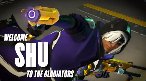 Shu signs with the Los Angeles Gladiators