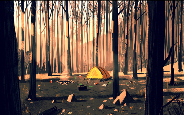 Fresh Concept Art From Firewatch