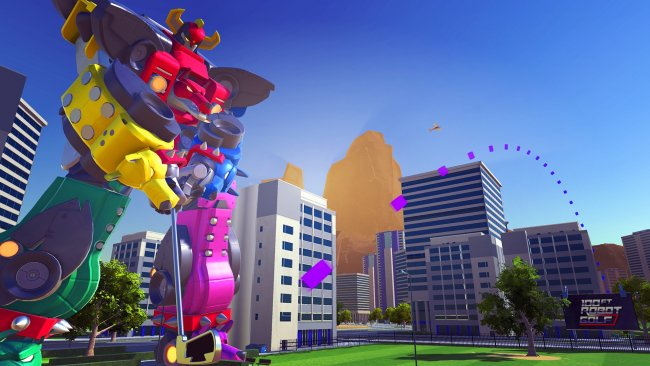 100ft Robot Golf's release date and new mode revealed