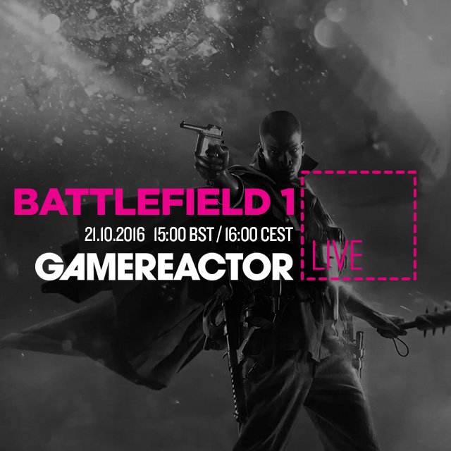 Today on GR Live: Battlefield 1