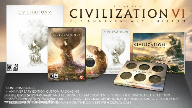 Civilization VI scores 25th anniversary edition