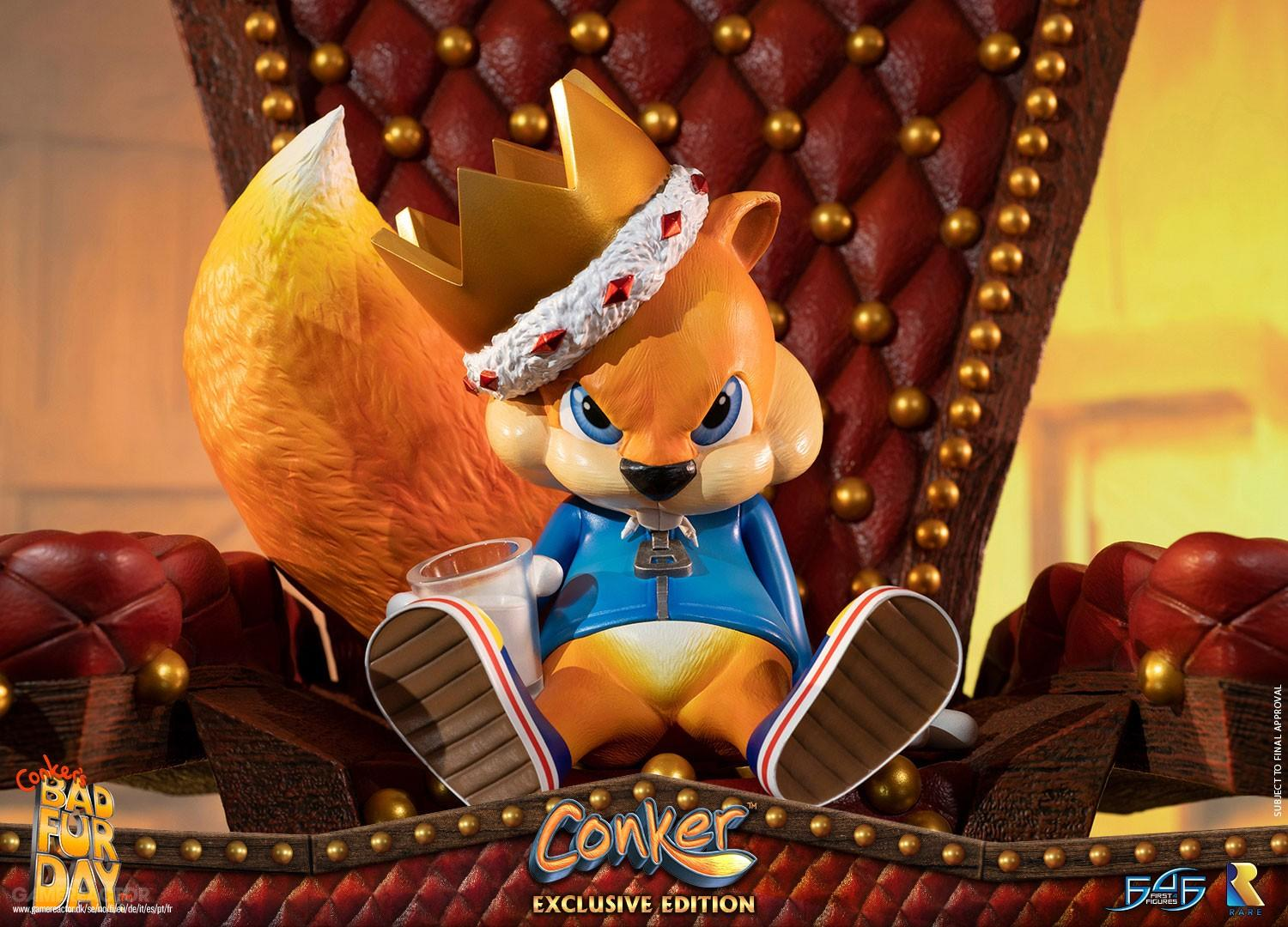 Equally Stunning And Pricey Conker Statue Up For Pre Order