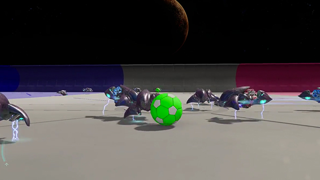 Rocket League recreated within Halo 5