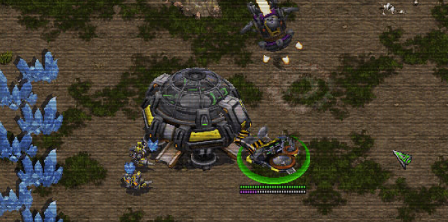 Gameplay the priority over visuals in Starcraft: Remastered