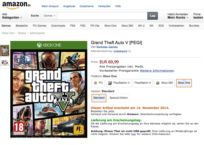 Has GTA V just been dated for Xbox One? - Grand Theft Auto V
