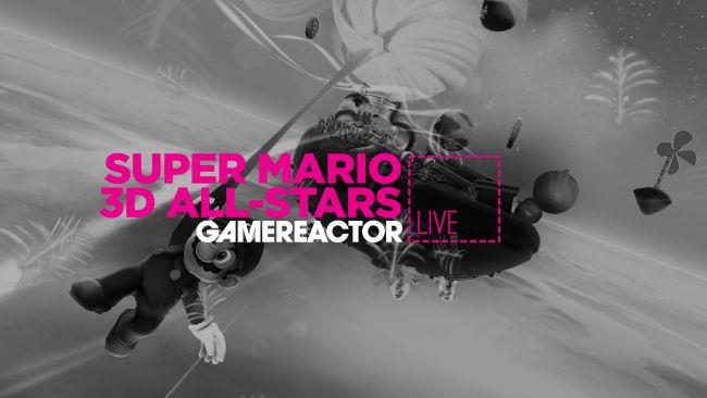 We're playing Super Mario 3D All-Stars on today's GR Live