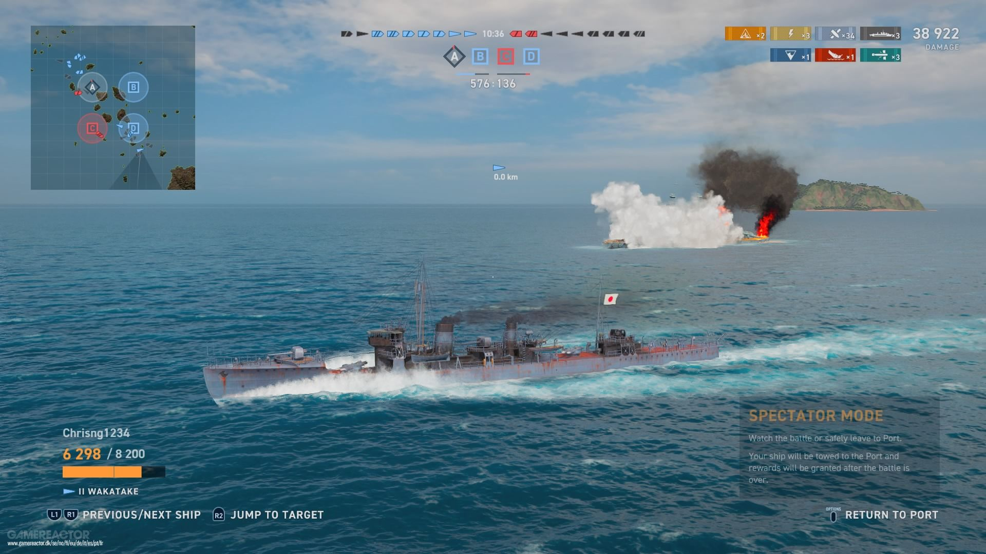 Pictures of World of Warships: Legends 5/9