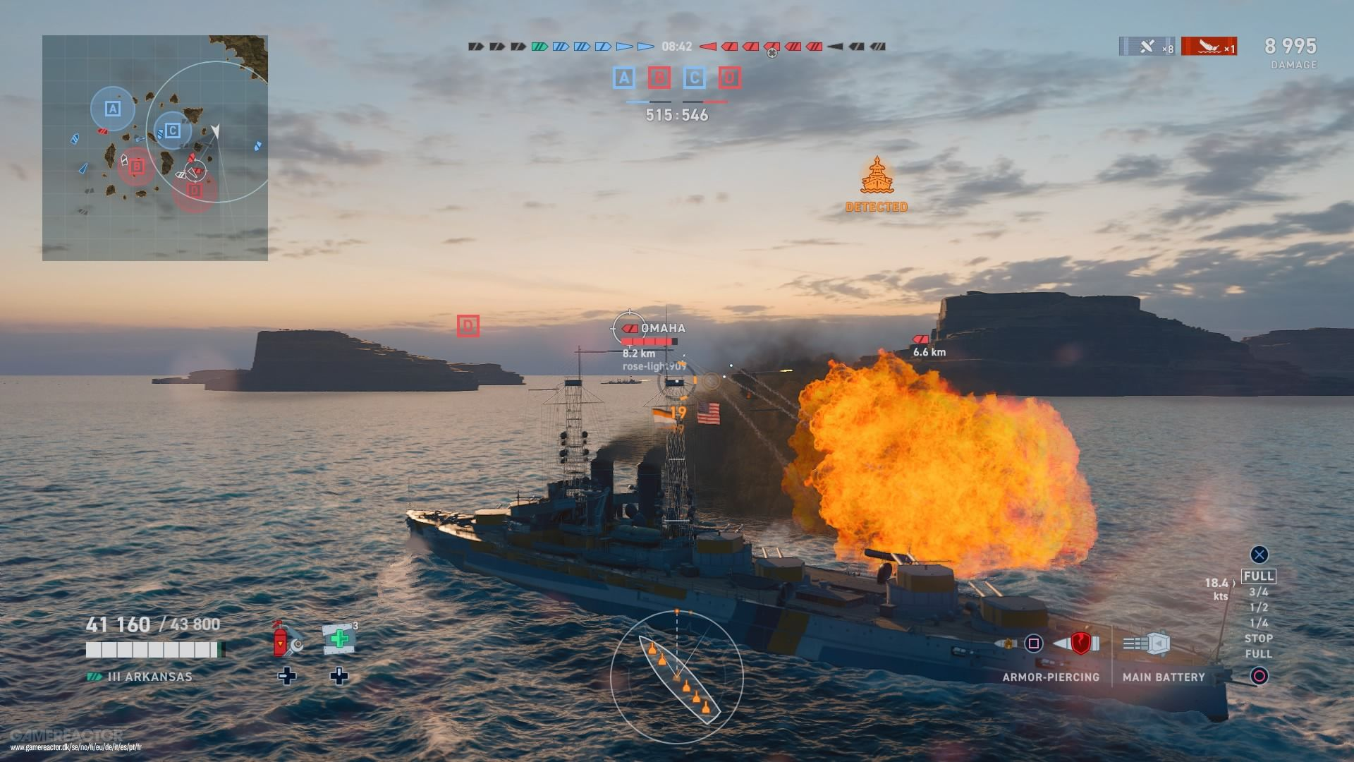 World of Warships: Legends Review - Gamereactor