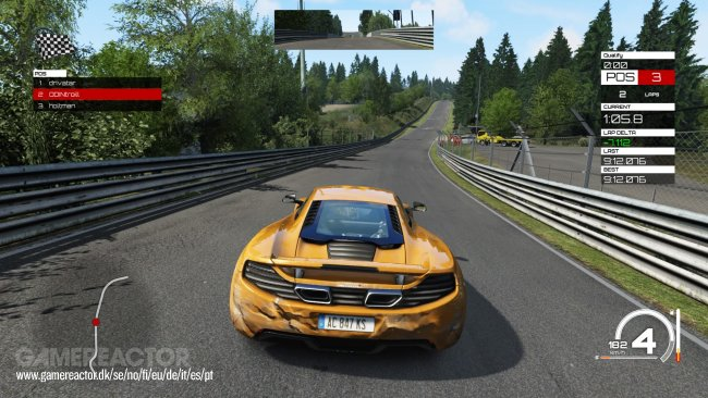 assetto corsa ps4 review gamereactor. Black Bedroom Furniture Sets. Home Design Ideas