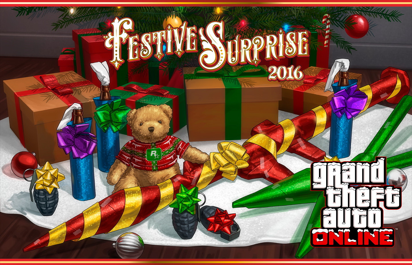grand theft auto vs christmas update is out now - Gta V Christmas