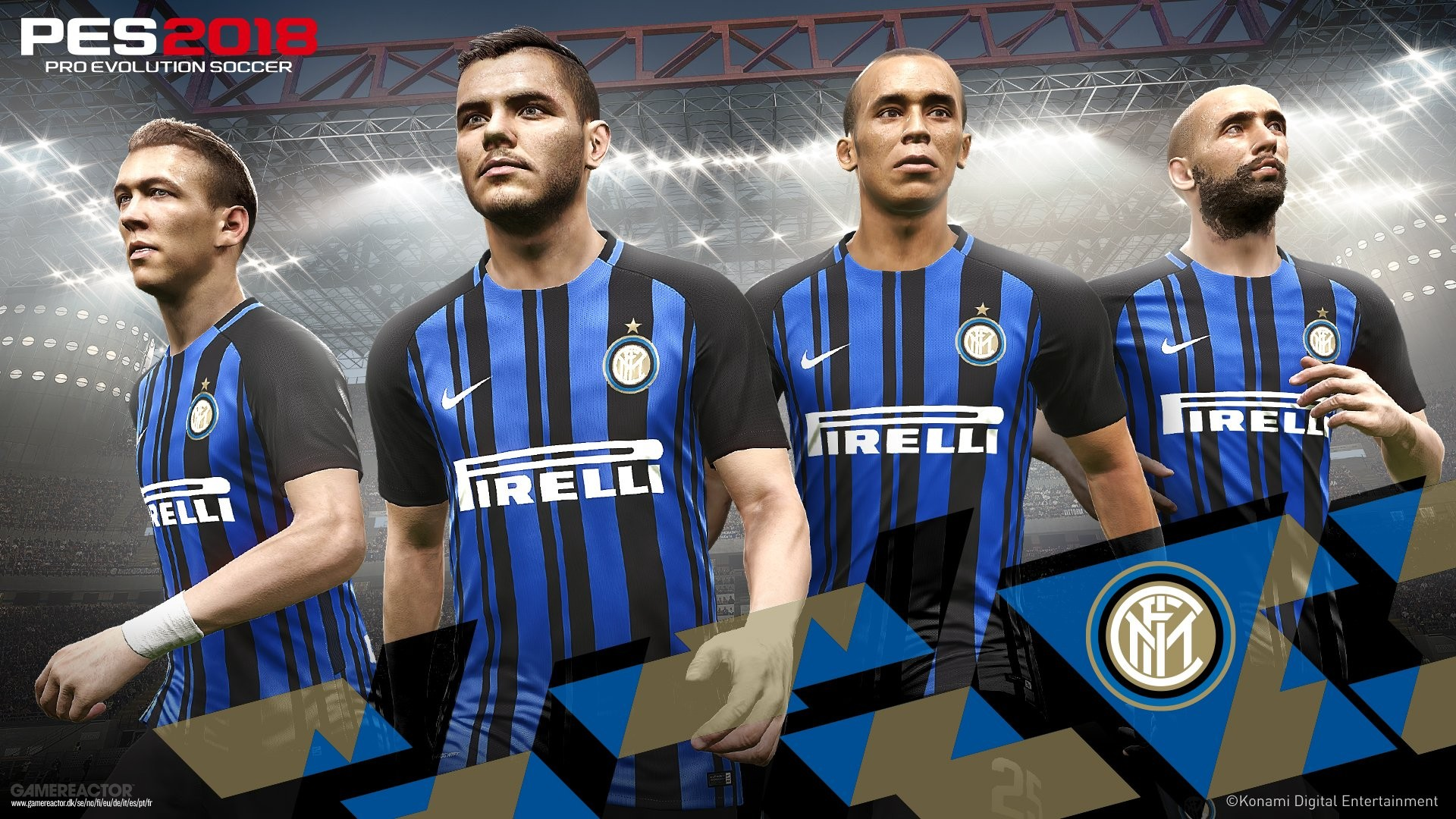 PES 2018 announces partnership with Inter Milan - Pro Evolution