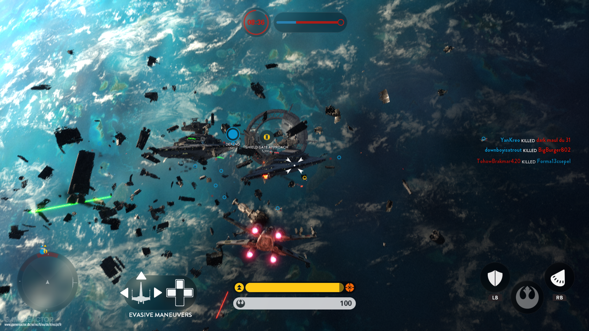 Star Wars Battlefront Rogue One Scarif Review Gamereactor