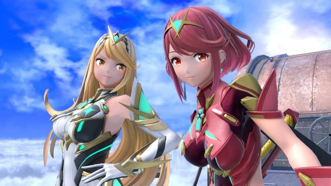 Absolutely stunning Mythra and Pyra statues up for pre-order