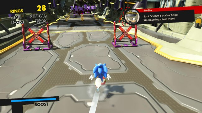 Sonic Forces offers only 15 minutes of controlled 3D gameplay