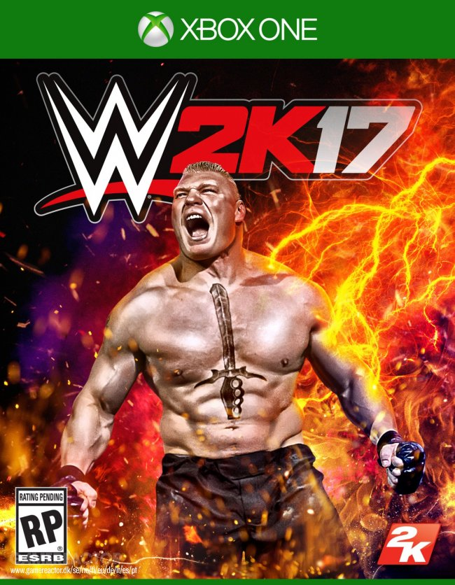 Brock Lesnar will be the star cover of WWE 2K17