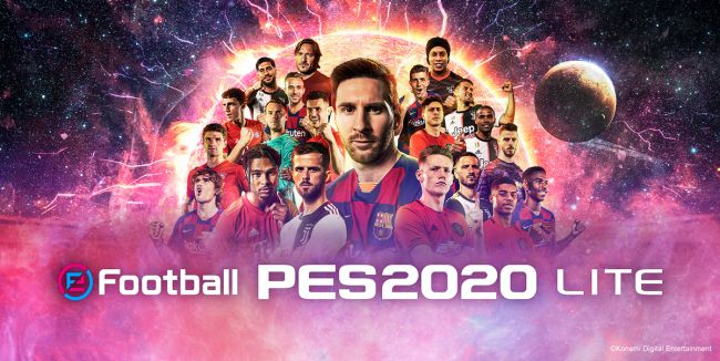 eFootball PES 2020 Lite lands with a new trailer