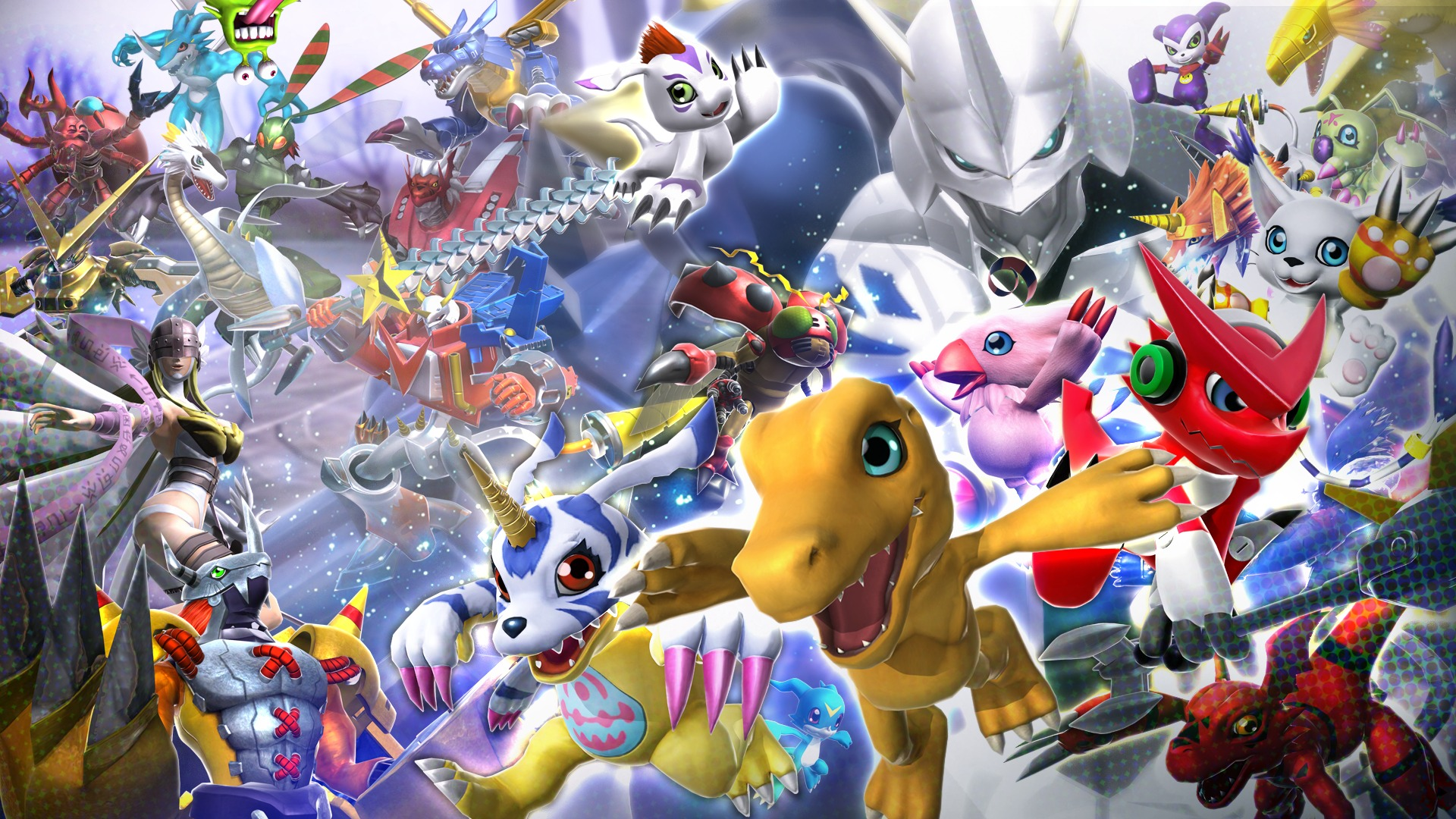 Pictures Of Digimon Story Cyber Sleuth 11 12