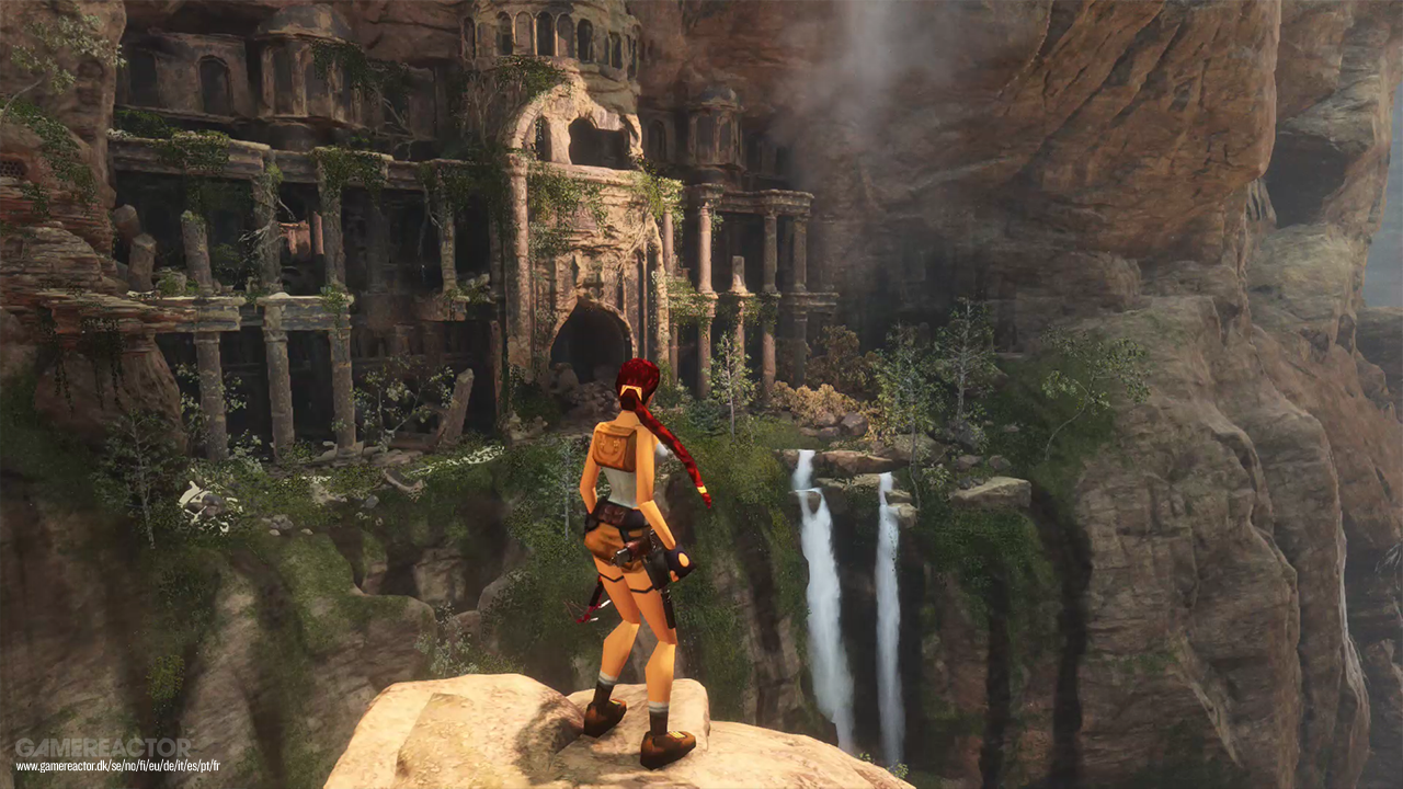 Pictures Of Check Out Retro Lara Croft In Rise The Tomb Raider 1 6 Sony Ps4