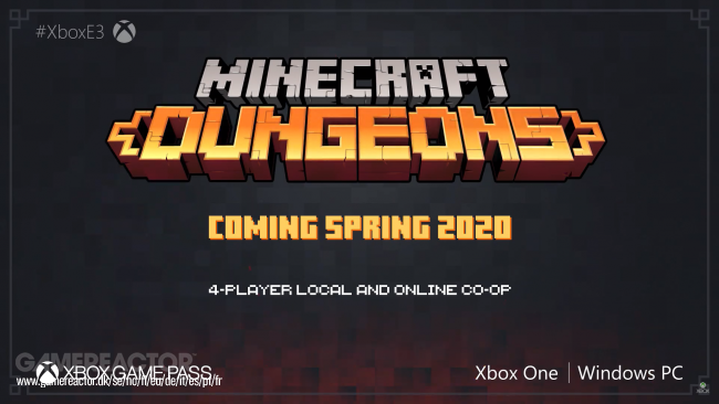 Minecraft Dungeons Preview