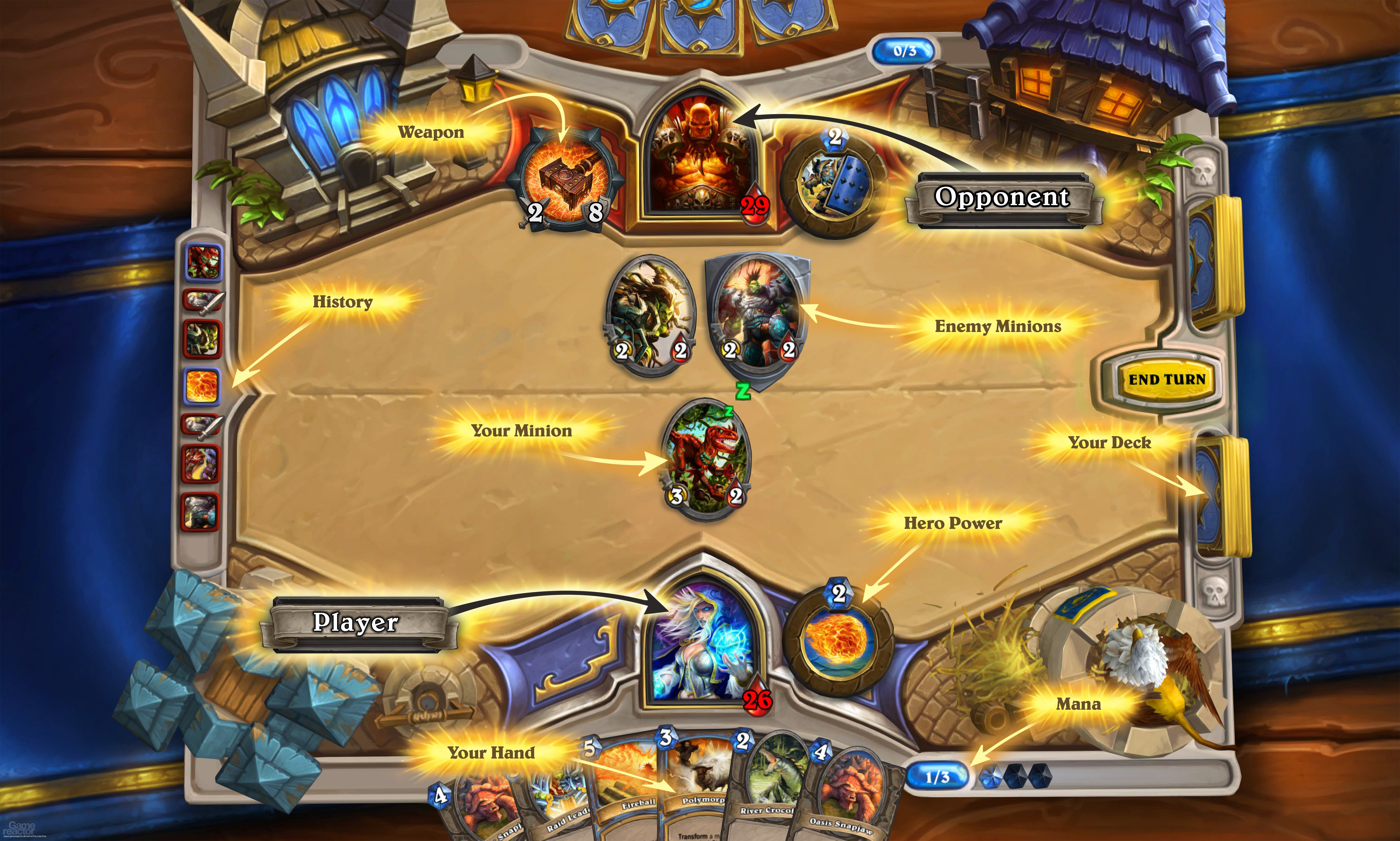 pictures of blizzard reveals hearthstone heroes of warcraft 1 9