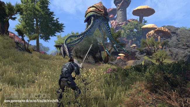 The Elder Scrolls online scores Morrowind gameplay trailer